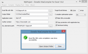 DoneEx VbaCompiler for Excel 1.4.5.0 Crack With License Code Full Version Free Download